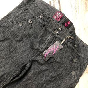 torrid Dark Wash Denim Sailor Jeans Size 26 NWT